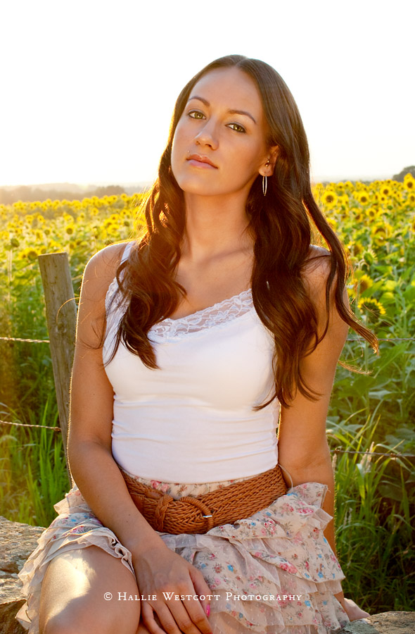 Hartford, CT headshot photographer captures model at Buttonwood Farm in Griswold, CT