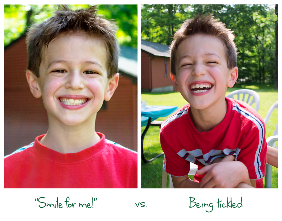 How to get real smiles and laughs from kids in portraits