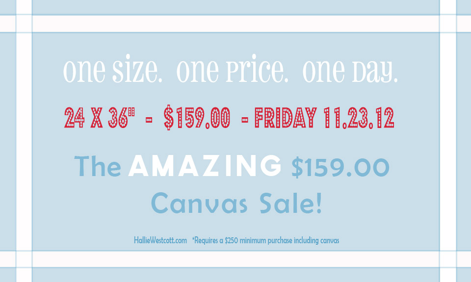 CT Photographer - An amazing canvas sale!