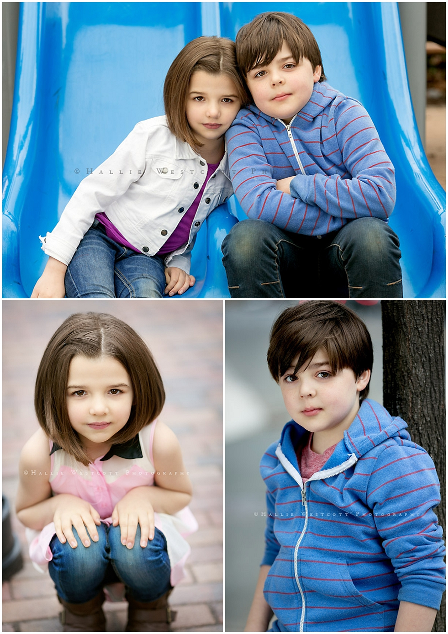 Luke & Lucy CT Headshots for Child Actors