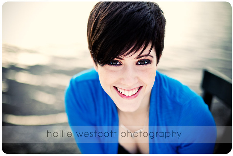 Photographer takes headshots for actress Sarah Warner at Wethersfield Cove in Wethersfield, CT
