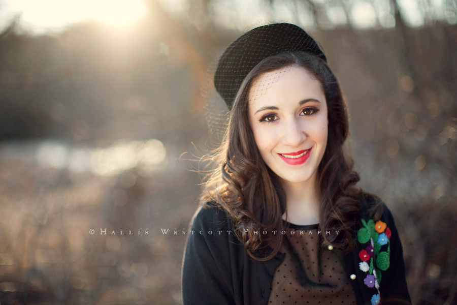A gorgeous vintage styled session for a sweet 16 gift