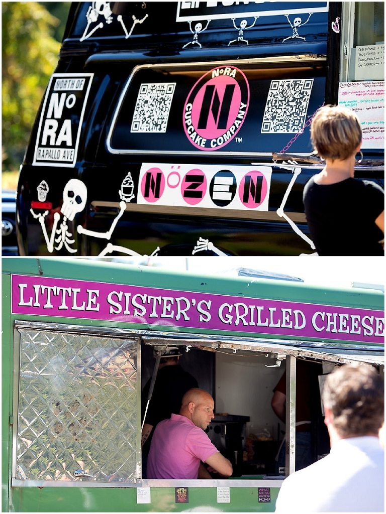 NoRa Cupcake Truck & Little Sister's Grilled Cheese Truck at Coventry, CT Farmer's Market