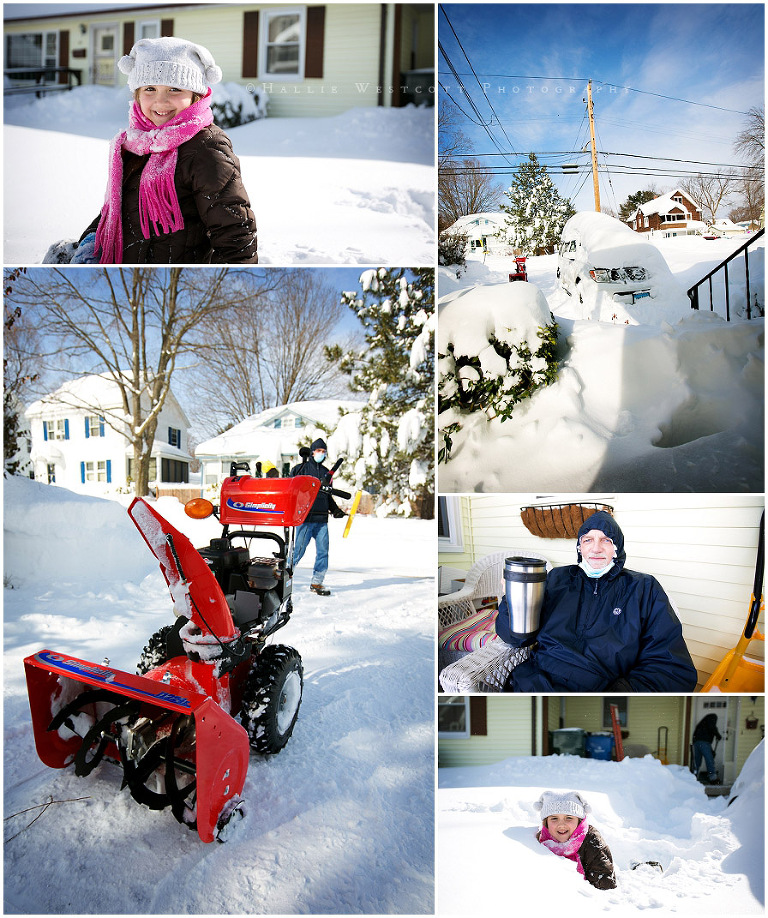 Snow Cleanup 2013