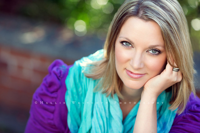 Headshots for CT Jazz singer, Ashely McGowan in Old Wethersfield, CT