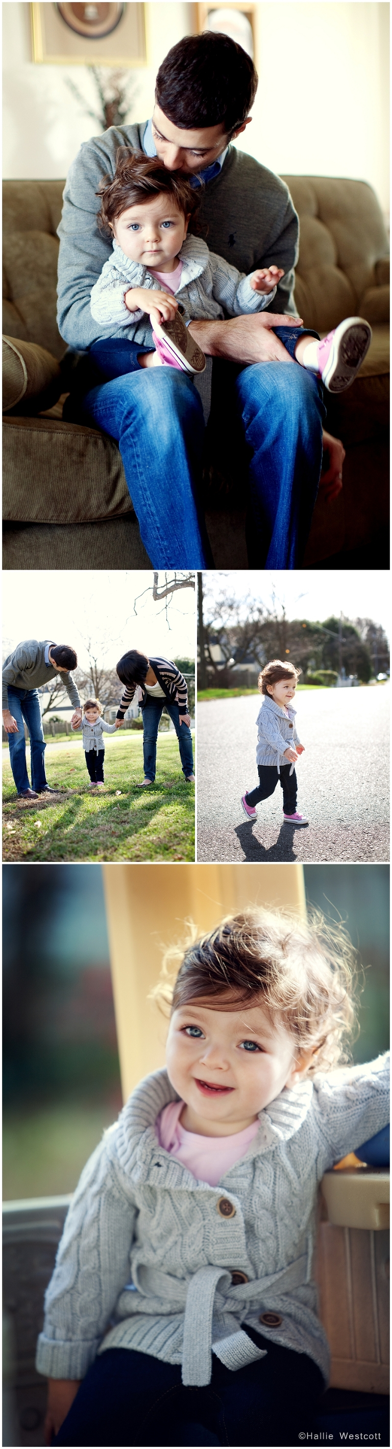 Photographing family moments for a CT family