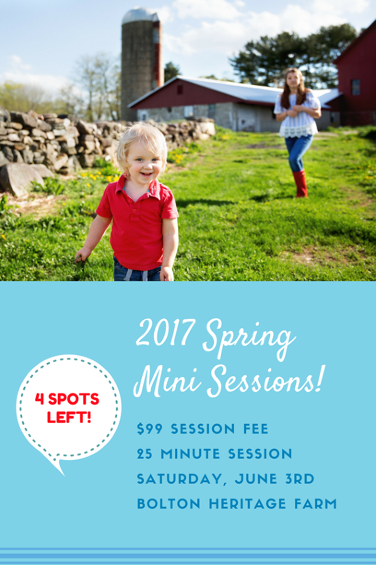 Little boy playing at Bolton Heritage Farm during a mini session